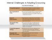 Internal Challenges in Adopting E-sourcing