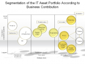 Segmentation of the IT Asset Portfolio According to Business Contribution