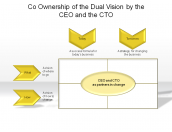 Co Ownership of the Dual Vision by the CEO and the CTO