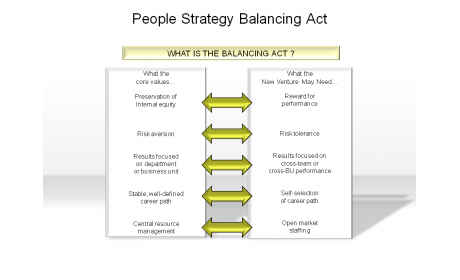 People Strategy Balancing Act