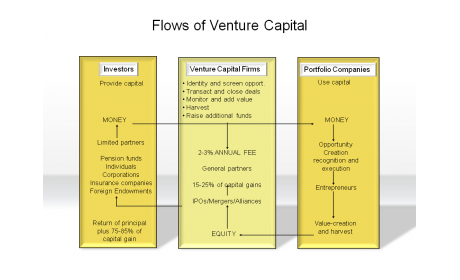 Flows of Venture Capital