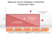 Balanced Growth Strategies to Maximize Shareholder Value