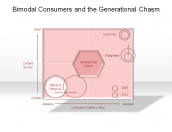 Bimodal Consumers and the Generational Chasm