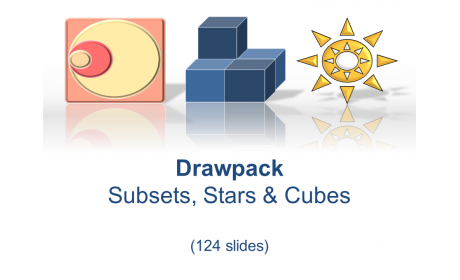 Drawpack Subset, Star & Cube Diagrams