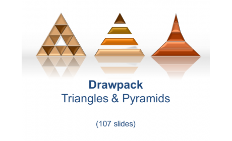 Drawpack Triangle & Pyramid Diagrams