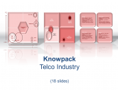 Telco Industry - 18 diagrams in PDF